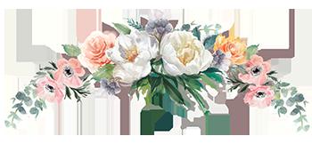Colorado flower arrangement for weddings