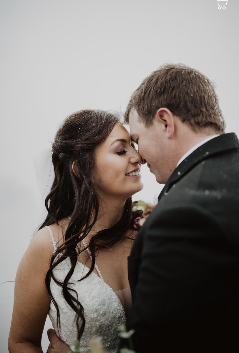 Picture of a couple smiling