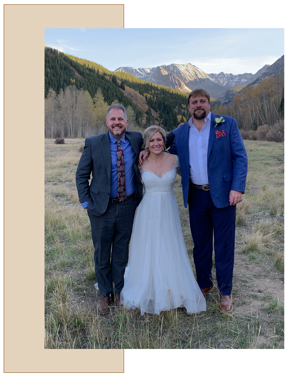 Our Story: Elevate Wedding Officiant